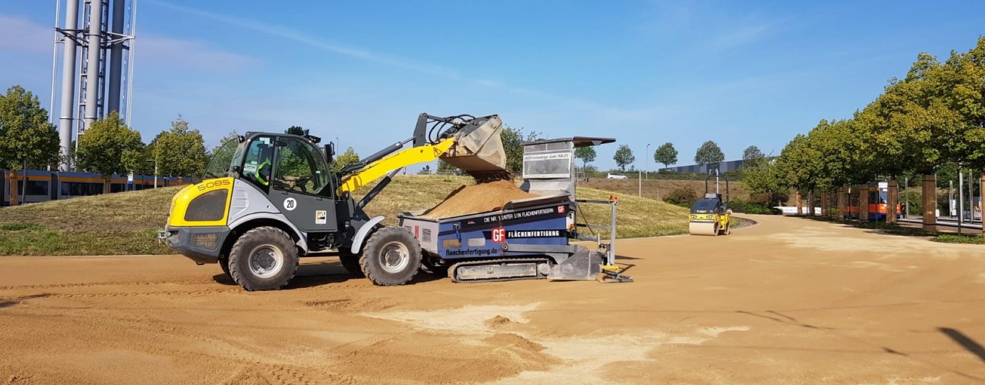 Wegebau mit HanseGrand Bau Nord