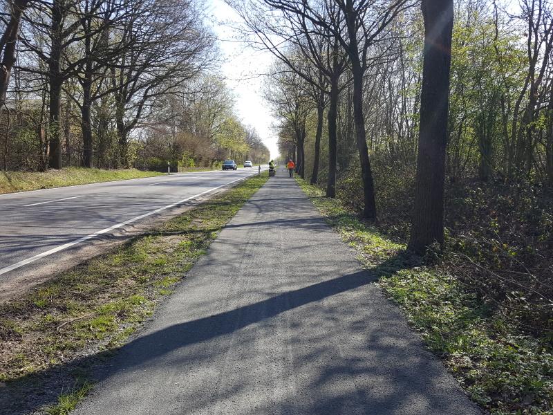 Sanierung Radwege HanseGrand