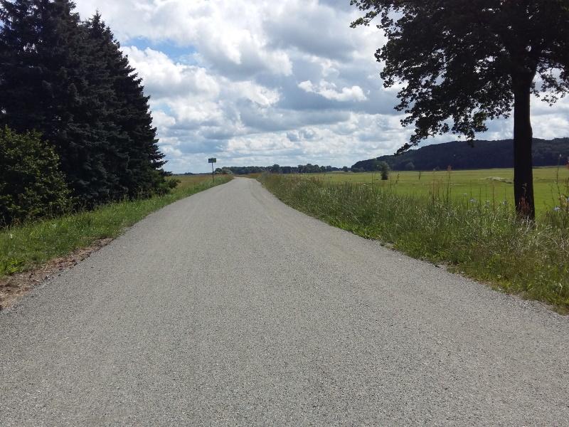 Bau Radweg HanseGrand